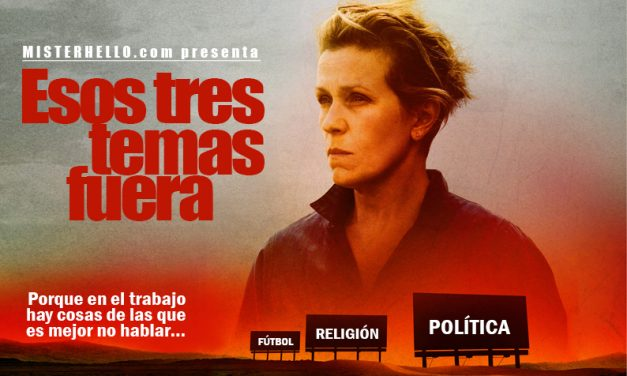 CCXV | POLÍTICA, FÚTBOL Y RELIGIÓN; TRES TEMAS TABÚS EN EL TRABAJO?